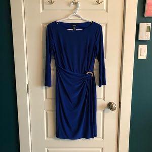 Chaps Dresses - Chaps, Blue Dress